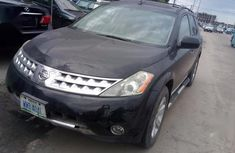 Certified black 2006 Nissan Murano automatic in good condition