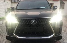 Sell black 2019 Lexus LX automatic in Lagos at cheap price