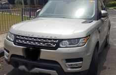 Brown 2016 Land Rover Range Rover Sport car at mileage 12 at attractive price