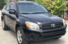 Black 2006 Toyota RAV4 car automatic at attractive price in Lagos