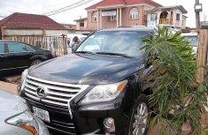 Selling black 2008 Lexus LX suv automatic
