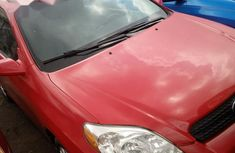 New Toyota Matrix 2006 Red color for sale