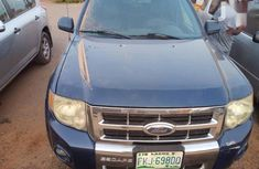 Ford Escape 2009 Limited 4WD Blue color for sale