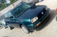 Green 1998 Volkswagen Golf manual for sale at price ₦650,000 in Kaduna