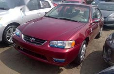 Best priced used 2002 Toyota Corolla in Lagos