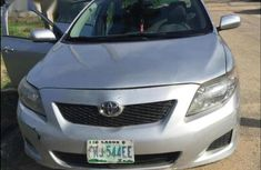 Clean grey/silver 2009 Toyota Corolla automatic for sale at price ₦1,950,000