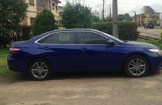 Toyota Camry 2016 Blue color for sale