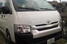 Sell well kept white 2013 Toyota HiAce van at price ₦3,150,000