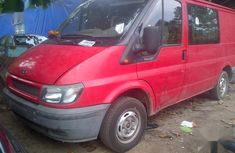 Ford Transit 2003 Red color for sale