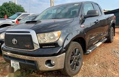 Black 2012 Toyota Tundra for sale at price ₦6,500,000