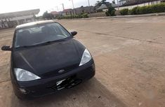Black 2000 Ford Focus automatic at mileage 52,862 for sale