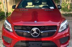 Well maintained red 2017 Mercedes-Benz GLE at mileage 14,253 for sale