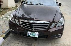 Sell well kept 2012 Mercedes-Benz E350 at mileage 57,850 in Lagos