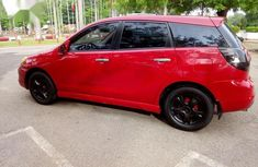 Toyota Matrix 2008 Red color for sale