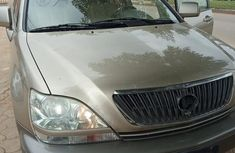 Used gold 2001 Lexus RX automatic for sale in Lagos