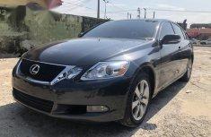 Selling grey 2008 Lexus GS sedan automatic