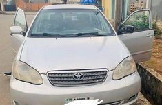 Best priced used grey 2004 Toyota Corolla automatic in Ikeja