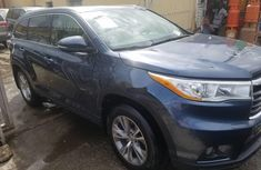 Blue 2014 Toyota Highlander for sale at price ₦12,000,000