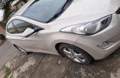 Beige 2013 Hyundai Elantra car at mileage 100,000 at attractive price