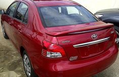Red 2003 Toyota Yaris automatic for sale in Sokoto