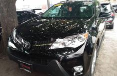 Certified black 2015 Toyota RAV4 automatic in good condition