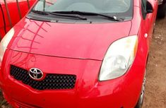 Sell used red 2008 Toyota Yaris suv at cheap price