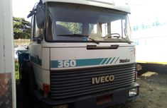 Foreign Used Iveco Truck 1999 Model Blue for Sale