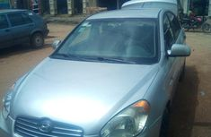 Clean and neat used grey/silver 2007 Hyundai Accent automatic in Abuja at cheap price