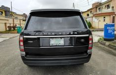 Clean black 2015 Land Rover Range Rover Vogue automatic for sale at price ₦26,000,000