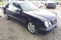 Certified black 2003 Mercedes-Benz E320 automatic in good condition