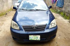 Used 2002 Toyota Corolla car at attractive price in Lagos