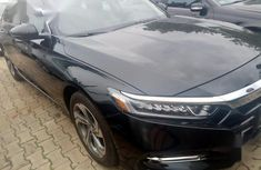 Sell well kept black 2018 Honda Accord automatic at price ₦22,000,000