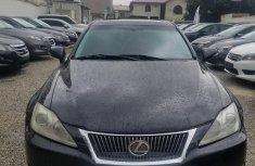 Lexus IS 2009 250 Black color for sale