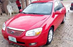 Used red 2007 Kia Cerato automatic at mileage 180,000 for sale