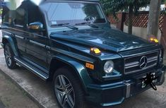 Sharp used green 2005 Mercedes-Benz G-Class suv car at attractive price