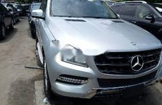 Best priced grey 2012 Mercedes-Benz ML350 automatic in Lagos