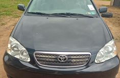 Clean and neat black 2007 Toyota Corolla