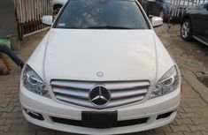 Well maintained white 2008 Mercedes-Benz C230 automatic for sale