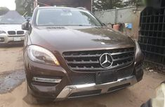 Well maintained 2014 Mercedes-Benz M-Class at mileage 65,217 for sale in Abuja