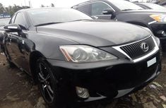 Black 2010 Lexus IS automatic for sale at price ₦4,000,000 in Lagos