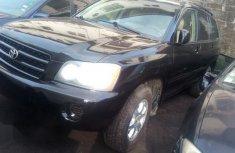 Toyota Highlander 2001 Black color for sale