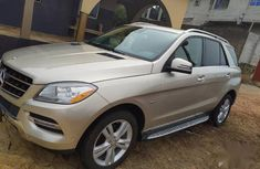 Very sharp neat 2012 Mercedes-Benz M-Class for sale in Lagos