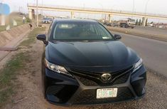 Toyota Camry 2018 XSE FWD (2.5L 4cyl 8AM) Black color for sale
