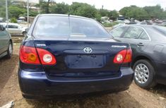 2004 tokunbo Toyota corolla for sale buy and drive