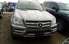 Foreign Used Mercedes Benz GL450 2012 Model Silver