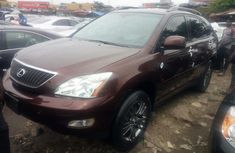 Foreign Used Lexus RX 350 2009 Model Brown for Sale
