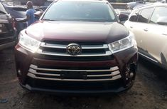 Foreign Used 2017 Toyota Highlander for Sale