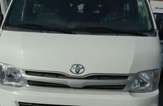 Used white 2013 Toyota HiAce manual car at attractive price