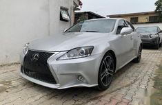 Sell used grey/silver 2007 Lexus IS sedan at cheap price
