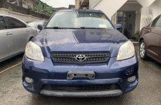 Toyota Matrix 2006 Blue color for sale